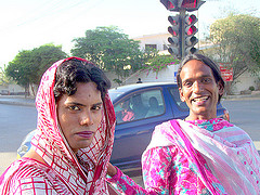 Hijras in Karachi  Pakistan  March 2008